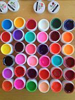 Набор цветных гелей СОСО 36 шт Led+УФ