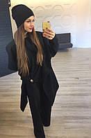 Комплект батал : Пальто, свитер ,шапка +хамут НВ016/1