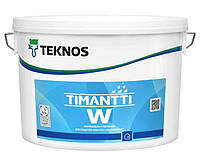 Грунт для влажных помещений TEKNOS TIMANTTI W паронепроницаемый, прозрачно-зеленый, 2.7л