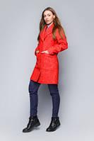 Яркое пальто прямого силуэта, фото 1