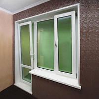 Купить металлопластиковый балконный блок в Херсоне