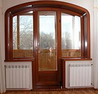 Заказать металлопластиковый балконный блок в Херсоне