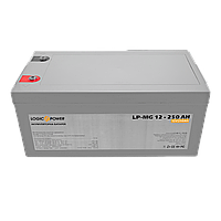 Мультигелевый (AGM) аккумулятор LogicPower 12В 250Ач