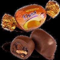 Шоколадные конфеты Дыня с грецким орехом Skava