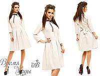 Платье бежевое. 5 цветов