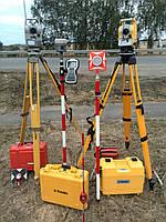 Вынос участка в натуру высокоточным GPS прибором GNSS Trimble R10