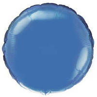"Гелиевый FM Круг Blue 18""/45 см"
