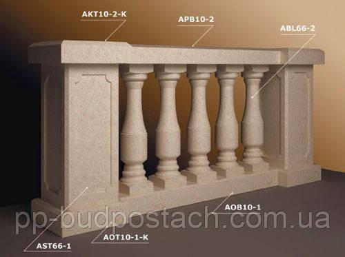 Фасадний декор з полімер