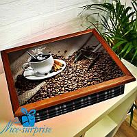 Переносной столик на подушке Кофейная церемония