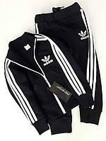 """Теплый костюм """"Adidas"""" с начесом на деток 140 см"""