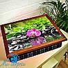 Переносной столик на подушке Орхидея в воде