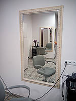 Зеркало с багетом в салон красоты