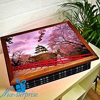 Поднос для завтрака Цветущая сакура