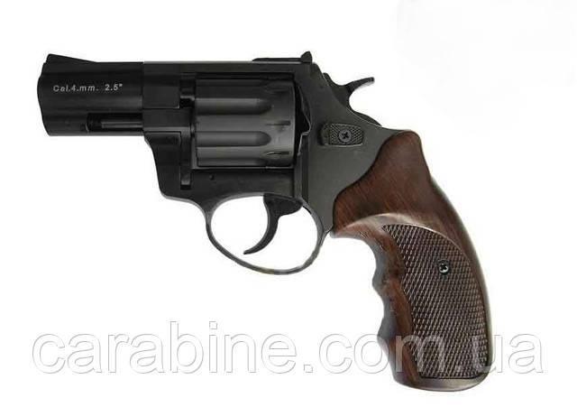 Револьвер ФлобераStalker 2,5 коричневая пластиковая рукоять