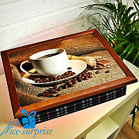 Столик-поднос Кофе с молочным шоколадом