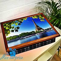 Столик-поднос Весна в Париже