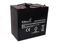 Мультигелевый (AGM) аккумулятор KM Battery 12В 60Ач