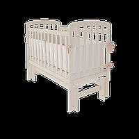 Детская кроватка Woodman Teddy слоновая кость, УМК