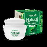 Отбеливающий крем для лица Natural с экстрактом петрушки