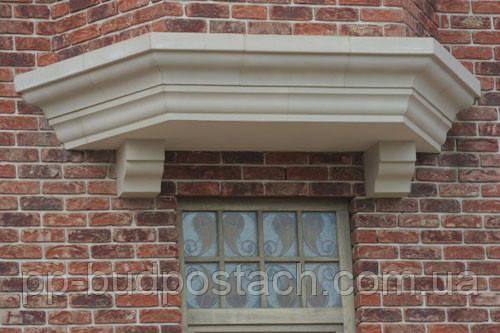 Фасадний декор будівлі за допомогою каменю