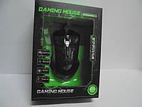 Мышка компьютерная Gaming mouse, проводная, черная, компьютерная, все для компьютеров, аксессуары