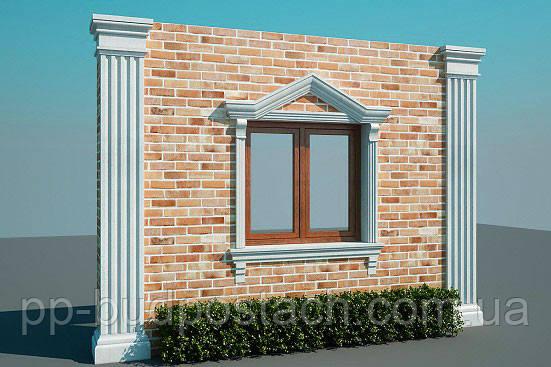 Декорування фасаду пінополістиролом або як прикрасити будинок