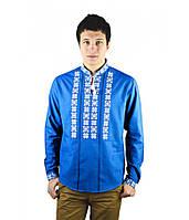Мужская рубашка-вышиванка больших размеров