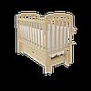 Дитяче ліжечко Woodman Teddy з ящиком, натуральна, УМК