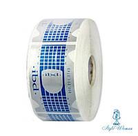 Формы для наращивания ногтей IBD узкие, бумажные, синие 500шт