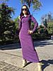 Платье женское в пол с капюшоном, фото 3