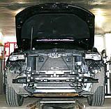 Декоративно-защитная сетка радиатора Jeep Grand Cherokee 2013- фальшрадиаторная решетка, бампер, фото 2