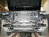 Декоративно-защитная сетка радиатора Jeep Grand Cherokee 2013- фальшрадиаторная решетка, бампер, фото 3
