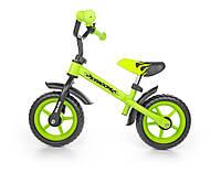 Детский беговел велобег Milly Mally Dragon стальная с регулировкой руля по высоте