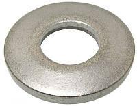 Шайба пружинная зажимная ф.8 DIN 6796,  ГОСТ 13439-68, (EN ISO 10670), нержавеющая А2