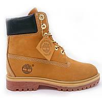 Женские ботинки Желтые ботинки Тимберленд 10361 wheat/ble
