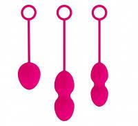 Набор вагинальных шариков Svakom, Nova Ball — Plum Red
