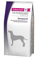 Eukanuba Dermatosis FP для собак при воспалительных заболеваниях кожи, 12 кг