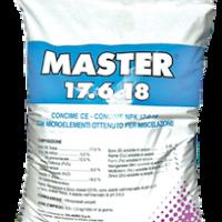 Удобрение с микроэлементами Мастер Master 17.6.18 хелатное 25 кг Valagro