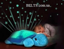 "Светильник ночник звездного неба ""Черепашка"" + USB-шнур"
