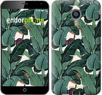 """Чехол на Meizu MX4 Банановые листья """"3078u-131"""""""