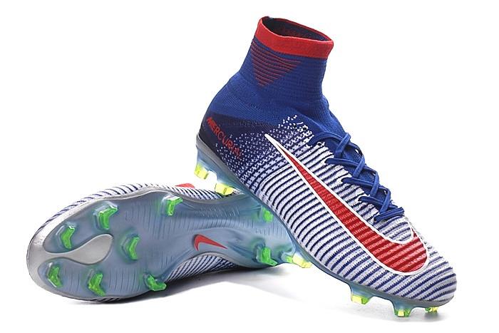 48a429c2429e6c Футбольные бутсы Nike Mercurial Superfly V FG Blue Tint/Racer Blue/Volt/Bright  Crimson