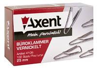 "Скріпки ""Axent"" 4105 25мм 100шт."