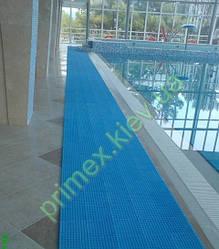 Противоскользящее покрытие «Бодрость» цвет голубой для бассейнов и влажных помещений коврик для бассеина киев