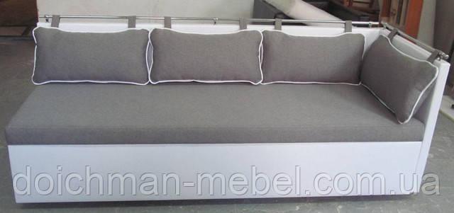 Небольшой компактный диван для кухни раскладной Комфорт  по индивидуальным размерам на заказ в Украине - Производитель мебели DOICHMAN furniture (Дойчман мебель), филиал мебельной фирмы Польша в Киеве