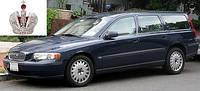 Автостекло, лобовое стекло VOLVO S60 / V70 / XC70 (Вольво с60 в70 хс70) 2000-2006