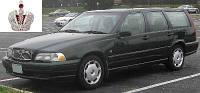 Автостекло, лобовое стекло VOLVO S70 / V70 / XC70 (Вольво с70 в70 хс70) 1997-2000