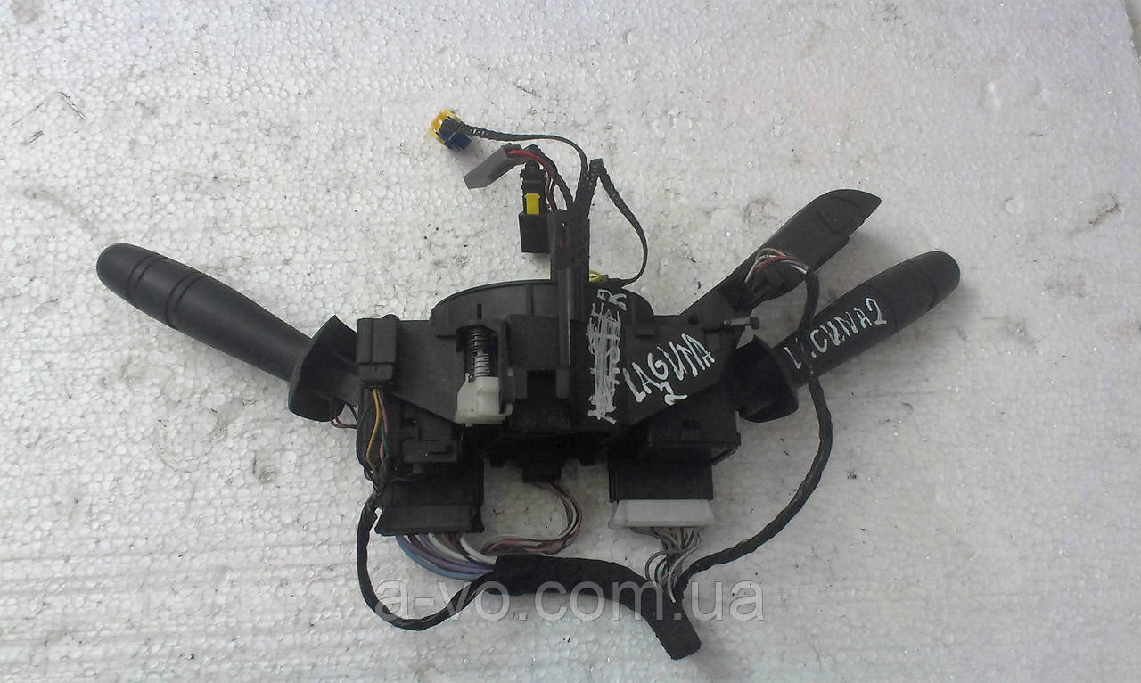 Переключатель стеклоочистителей  з регулятором громкости Laguna 2 DAV 478  K74  0420445  KG0M0526156501