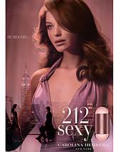 Carolina Herrera 212 Sexy Women парфюмированная вода 60 ml. (Каролина Херрера 212 Секси Вумен), фото 3