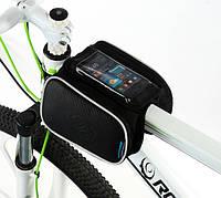 Вело сумка  под смартфон на раму с  2-мя багажниками., фото 1