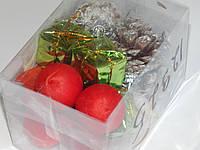 Набор игрушки новогодней  для украшения елки 16шт